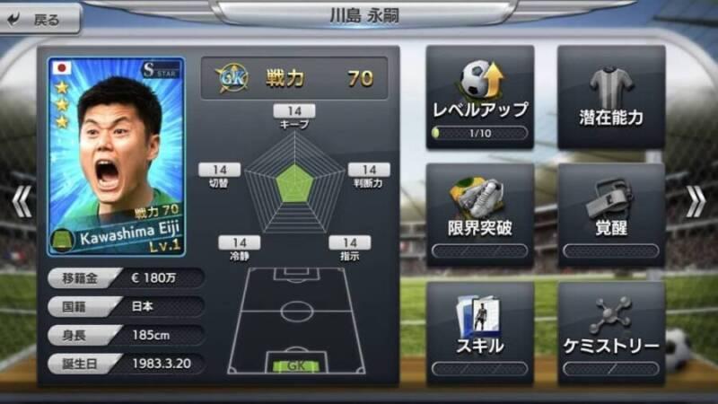 川島永嗣選手